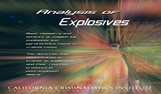 Analysis of Explosives